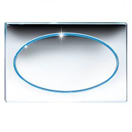 167-27660036-00 Jomo CLASSIC клавиша с LED подсветкой для смыва в комплекте с рамкой
