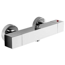 41206610 Palazzani Track термостатический смеситель для душа на 2 потребителя