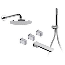 01138310 Palazzani Mis встроенный комплект для ванны с душевым гарнитуром