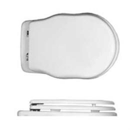 40409 Althea Royal крышка и сиденье для унитаза белая с плавным закрыванием