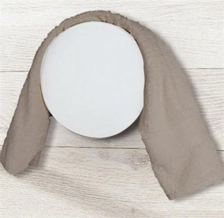 HOM CUZCO matt полотенцесушитель круглый матовый - фото 12039