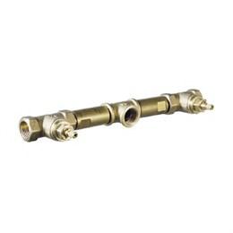 99573402 Palazzani Mis встроенная часть встраиваемого смесителя для раковины на три отверстия