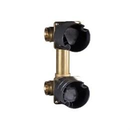 99573502 Palazzani Mis встроенная часть встраиваемого смесителя для душа на 2 потребителя